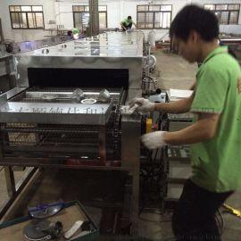 中山铝合金灯具除油污清洗机 自动超声波清洗烘干线设备专业定做