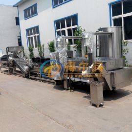 DR12连续式冷冻薯条成套设备 专业加工薯条流水线