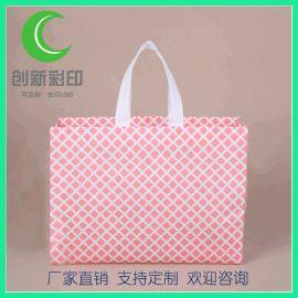无纺布袋环保手提袋购物袋定制立体袋印LOGO