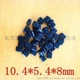 硅橡胶制品,二孔过线软胶,耐老化 长方形胶套