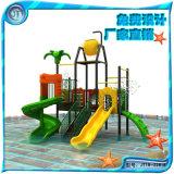 水上乐园城堡儿童水上组合滑梯 水寨组合滑梯