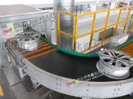 广州轮毂辊筒输送线 佛山轮辋物流分拣线