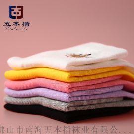广东袜子厂家直批卡通纯棉儿童袜 批发外贸OEM童袜