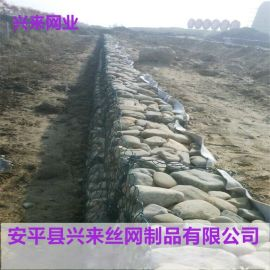 高镀锌石笼网,石笼网垫厂家,河北铅丝石笼网