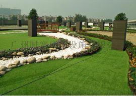 秋天装饰草,咖啡色塑料草,四色草坪