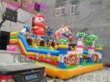 安庆市 猪猪侠充气攀岩大滑梯精致漂亮又好玩!
