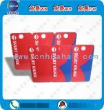 子母卡子母会员卡三折卡磁条卡条码卡厂家