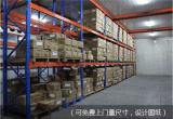 專業生產重型貨架、橫樑式、重型倉儲可訂做任何尺寸等
