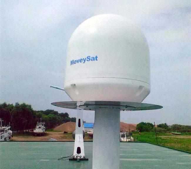 商船衛星寬頻天線,船載動中通,海上通,海衛通,高速上網