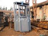 机闸一体式钢制闸门0.6x0.6 不锈钢闸门 镶铜闸门价格