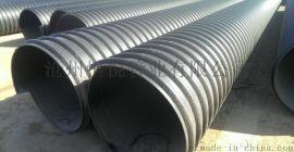 排污管钢带增强波纹管供应商,重庆低价直销钢带管