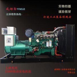 250KW发电机组 250千瓦发电机 玉柴发电机组