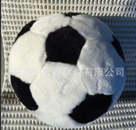 毛绒足球玩具 毛绒球类产品 毛绒仿真足球