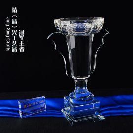 新款冠亚季**水晶奖杯 大型赛事活动奖杯定制厂家
