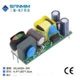 sanmim/三敏 MLA03A 3W电源模块裸板 AC-DC电源模块