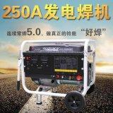250A电焊发电两用机