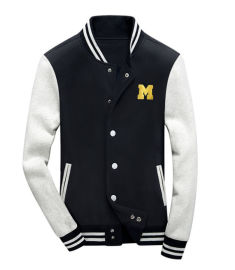 承接来图样订制加绒棒球服外贸棒球衫订单加工