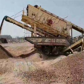 济南移动破碎机厂家 移动式建筑垃圾破碎站型号