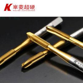 淬火後HRC50-65硬度的硬鋼攻絲專用切削絲錐