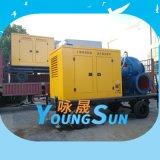 2000立方大流量防汛移动泵站  柴油机水泵机组