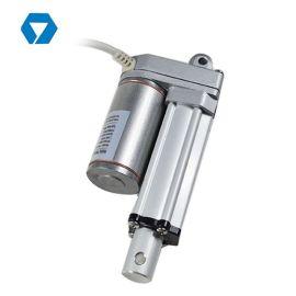 地面清洁车的橡胶扫帚提升装置,撒盐机的油门控制电动推杆