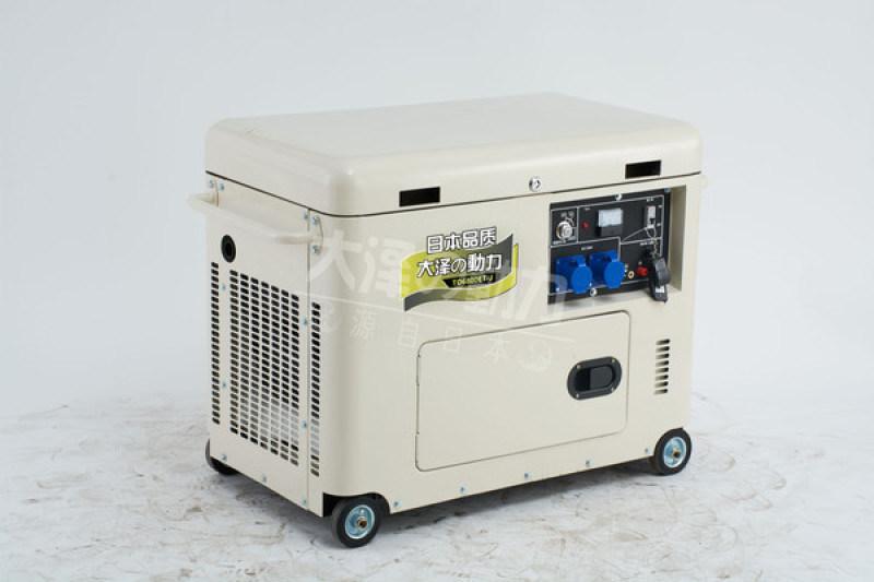 四保护3kw静音柴油发电机大泽动力