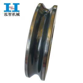 U型钢导轮 高速拉丝机导轮 导轮定做涂层 喷瓷导轮