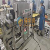 麪包渣裹渣設備 廠家專用肉餅上屑機 食品裹糠機械