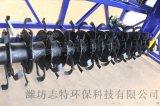 山東槽式翻拋機生產廠家/有機肥翻堆機供應/支持訂製