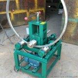 卧式弯管机3KW方管圆管折弯机100方管弯管机