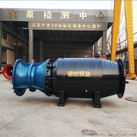 湖泊建站用泵_引流排水用轴流泵_雪橇式轴流泵