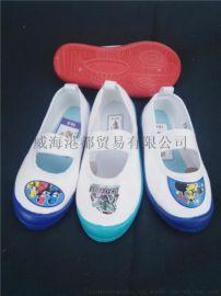 儿童小白鞋