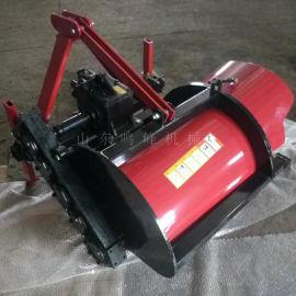葡萄树培土埋藤机,四轮拖拉机单侧开沟埋藤机