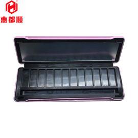 马口铁长方形12色眼影盒 化妆品包装铁盒