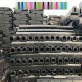 p50鋼軌橡膠道口板 p60鐵路橡膠道口板