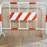 建筑工地临时隔离防护铁马护栏可移动喷塑铁马护栏