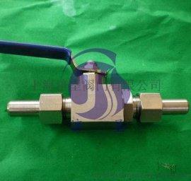 不锈钢KHB焊接高压球阀DN32