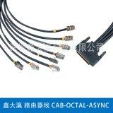 鑫大灜 路由器線 CAB-OCTAL-ASYNC 1.0M 3M 墨綠色