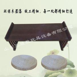 湖北幼儿园国学桌 幼儿园国学桌古典中式桌椅生产厂家