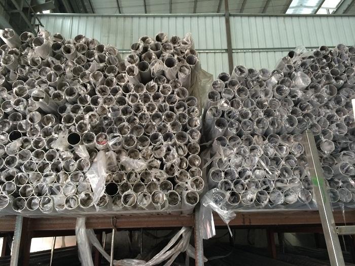 定西现货拉丝不锈钢管, 不锈钢抛光焊管, 304不锈钢大口径管