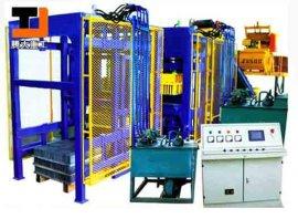 济南液压全自动免烧砖机性能特点和优势