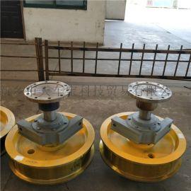 直径350单边天车轮 角型轴承箱车轮组 锥形车轮组