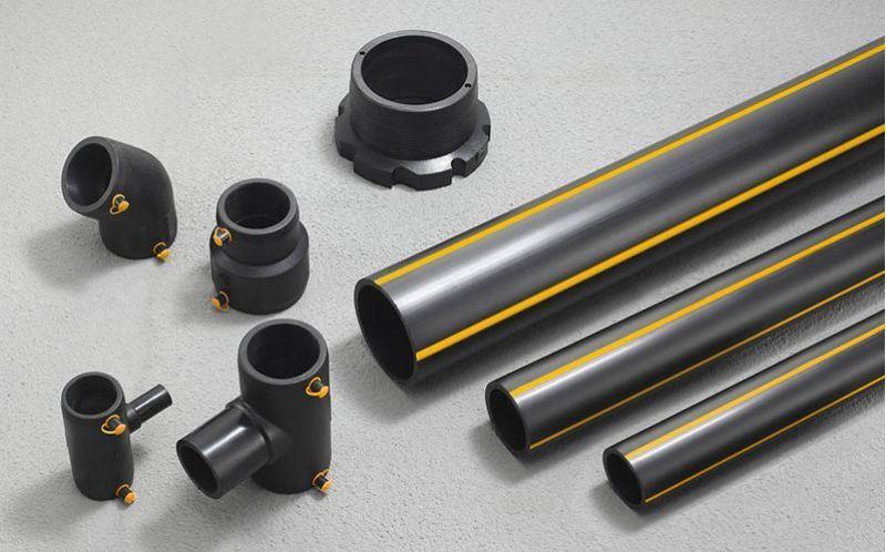 塑料低压燃气管_中低压埋地聚乙烯国标PE燃气管