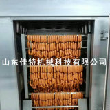 自带蒸煮烘干的红肠烟熏炉, 长沙红肠加工设备