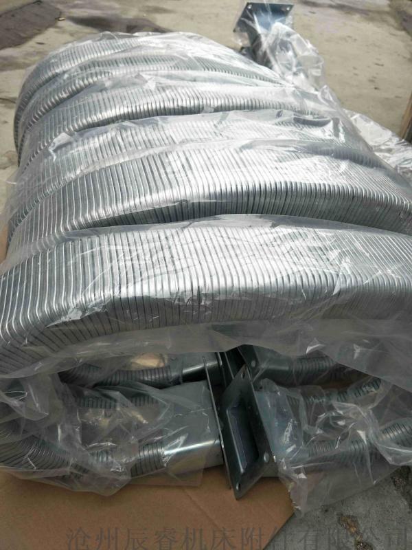 全封闭强力型JR-2型矩形金属软管 嵘实金属软管