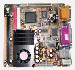 车载电脑主板(B845M+Pentium M 753 1.2G/2M)