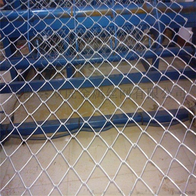 热镀锌勾花网 菱形铁丝网 勾花网围栏网