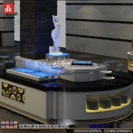 迪克森自助餐台翻新维护、固定自助餐台、自助餐台图片设计定制  酒店布菲台定制
