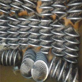 碳化硅双钢带缠绕式弹簧毛刷 钢丝尼龙丝工业毛刷辊