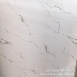 展示柜木纹纸爵士白大理石纹宝丽纸底部无胶表面可以喷漆